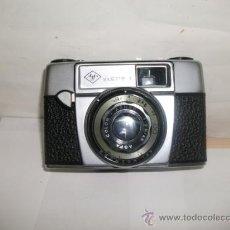 Cámara de fotos: + AGFA SILLETE I CAMARA DE FOTOS CON FUNDA. AÑOS 50 VARIANTE RARA.. Lote 26338007