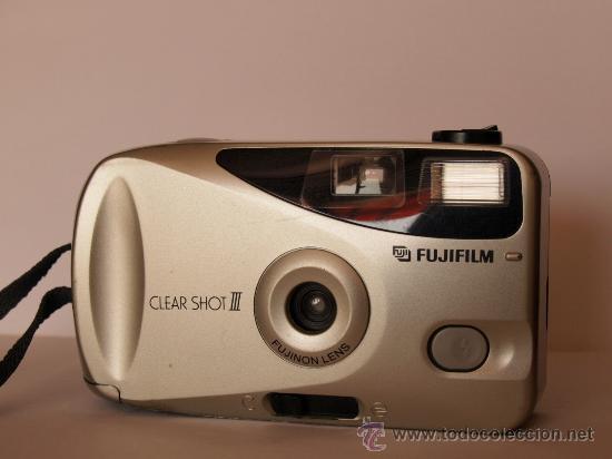 FUJI CLEAR SHOT III + CORREA MUÑEQUERA / FUNCIONANDO Y (Cámaras Fotográficas - Clásicas (no réflex))