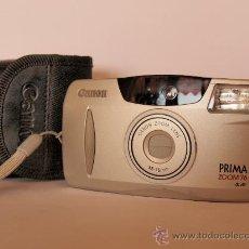 Cámara de fotos: CANON PRIMA ZOOM 76 + CORREA DE MANO + FUNDA / FUNCIONANDO Y . Lote 26473235