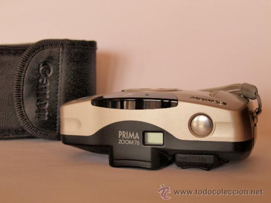 Cámara de fotos: CANON PRIMA ZOOM 76 + CORREA DE MANO + FUNDA / FUNCIONANDO Y - Foto 3 - 26473235