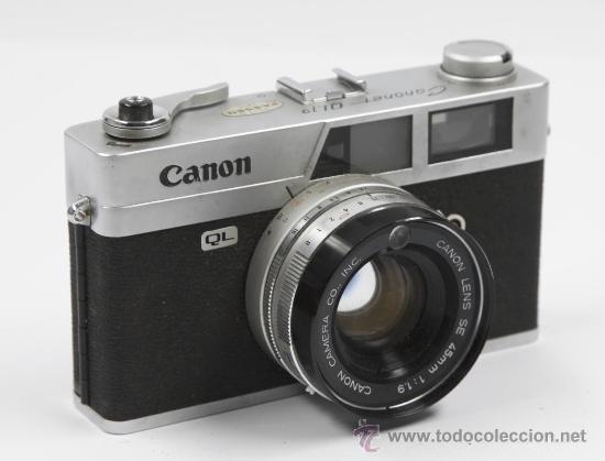 CÁMARA DE FOTOS CANON CANONET QL19 (Cámaras Fotográficas - Clásicas (no réflex))