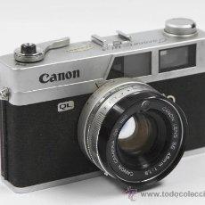 Cámara de fotos: CÁMARA DE FOTOS CANON CANONET QL19. Lote 27942380