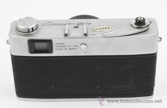 Cámara de fotos: Cámara de fotos Canon canonet QL19 - Foto 2 - 27942380