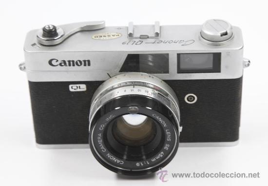 Cámara de fotos: Cámara de fotos Canon canonet QL19 - Foto 3 - 27942380