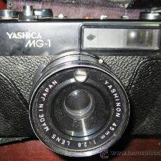 Cámara de fotos: CÁMARA FOTOGRÁFICA YASHICA MG -1. OBJETIVO YASHINON 45 MM; 1 : 2.8 . Lote 29468311
