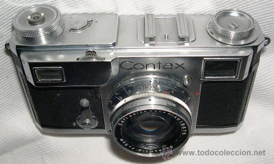 CÁMARA DE FOTOS ZEISS CONTAX II (Cámaras Fotográficas - Clásicas (no réflex))