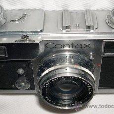 Cámara de fotos: CÁMARA DE FOTOS ZEISS CONTAX II. Lote 29896701