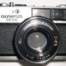 Cámara de fotos: CÁMARA OLIMPUS 35 DC. Lote 29896796
