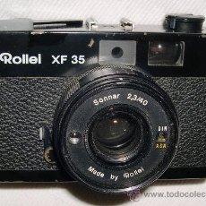 Cámara de fotos: CÁMARA ROLLEI XF35. Lote 29897833