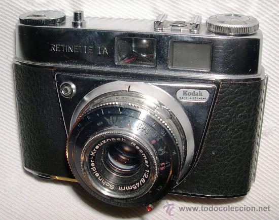 CÁMARA KODAK RETINETTE 1A (Cámaras Fotográficas - Clásicas (no réflex))