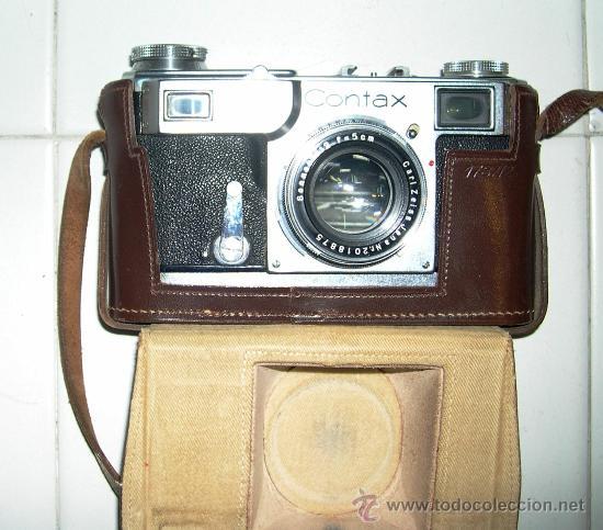 Cámara de fotos: Cámara de fotos Zeiss Contax II - Foto 3 - 29896701