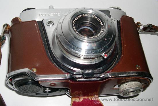 Cámara de fotos: Cámara Kodak Retinette 1A - Foto 3 - 53635615