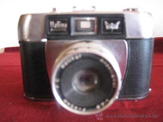 CAMARA FOTOGRAFICA HALINA PAULETTE - 1.965 (Cámaras Fotográficas - Clásicas (no réflex))