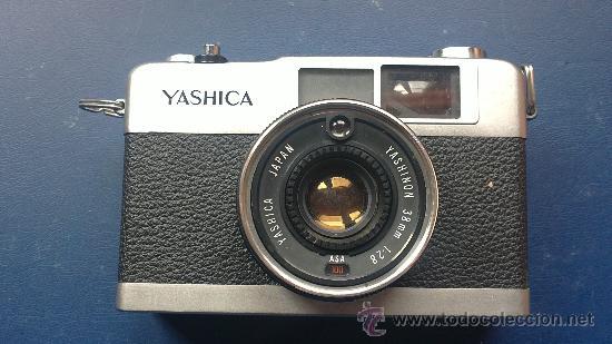 ANTIGUA CAMARA DE FOTOS-YASHICA-YASHINON-1:2.8(38MM) (Cámaras Fotográficas - Clásicas (no réflex))