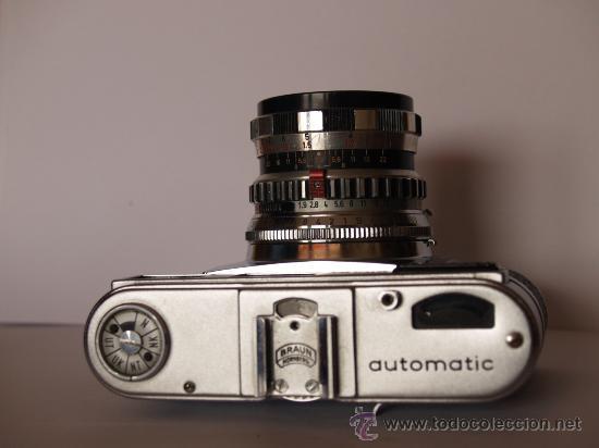 Cámara de fotos: BRAUN PAXETTE SUPER III - AUTOMATIC / EXCELENTE ESTADO Y FUNCIONANDO - Foto 2 - 31337588