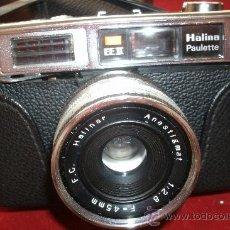 Cámara de fotos - ANTIGUA CAMARA HALINA PAULETTE EN SU FUNDA ORIGINAL. - 31846049