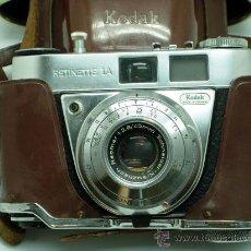 Cámara de fotos: CÁMARA KODAK RETINETTE IA 1A MADE IN GERMANY 45 MM CON FUNDA. Lote 99130487
