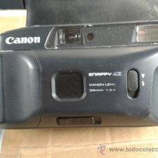Cámara de fotos: CAMARA FOTOGRAFICA ANTIGUA AÑOS 70 CANON SNAPPY EZ CANON LENS 35 MM 1:38 FUNCIONA FUNDA. Lote 32058481