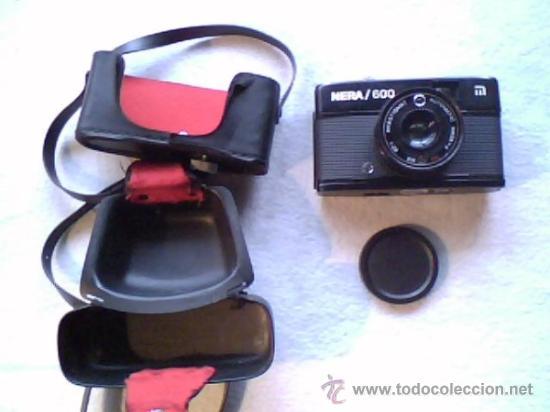 CAMARA FOTOGRAFICA NERA - 600 -ANASTIGMAT AUTOMATIC - F=40MM - 1:28 - FUNCINA - CON FUNDA (Cámaras Fotográficas - Clásicas (no réflex))