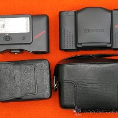 Cámara de fotos - MINOX GT-E + FUNDA DE CUERO ORIGINAL + FLASH Y FUNDA. - 119040748