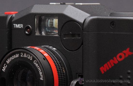 Cámara de fotos: MINOX GT-E + FUNDA DE CUERO ORIGINAL + FLASH Y FUNDA. - Foto 8 - 119040748