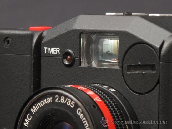 Cámara de fotos: MINOX GT-E + FUNDA DE CUERO ORIGINAL + FLASH Y FUNDA. - Foto 7 - 119040748
