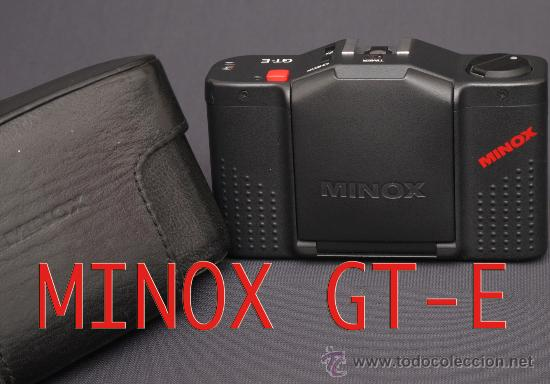 Cámara de fotos: MINOX GT-E + FUNDA DE CUERO ORIGINAL + FLASH Y FUNDA. - Foto 15 - 119040748