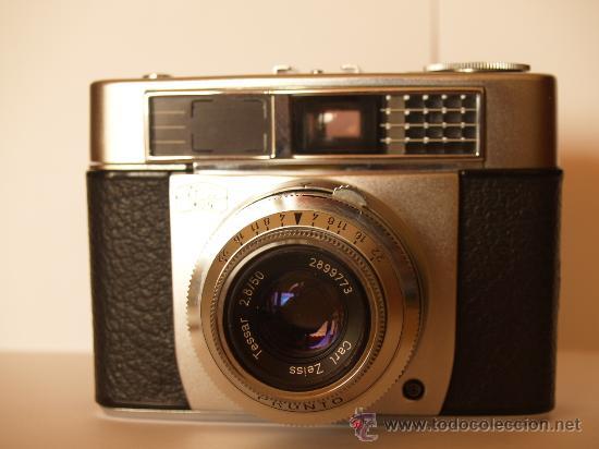 Cámara de fotos: ZEISS IKON CONTESSA 35 + FUNDA ORIGINAL / FUNCIONANDO Y EN EXCELENTE ESTADO - Foto 2 - 34483474