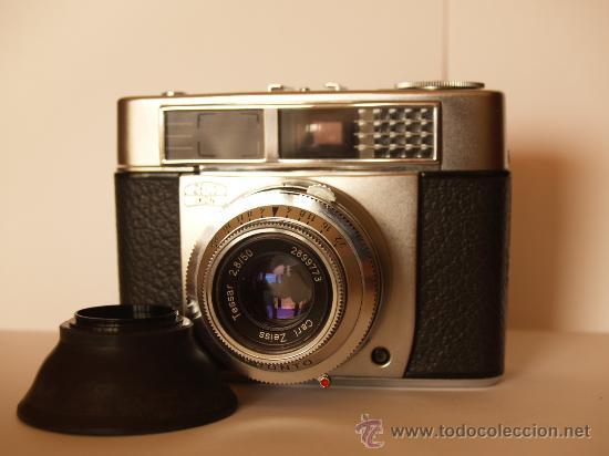 Cámara de fotos: ZEISS IKON CONTESSA 35 + FUNDA ORIGINAL / FUNCIONANDO Y EN EXCELENTE ESTADO - Foto 6 - 34483474