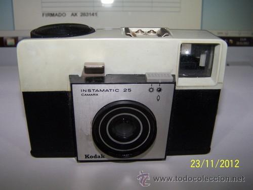 CAMERA FOTO KODAK INSTAMATIC 25 (Cámaras Fotográficas - Clásicas (no réflex))