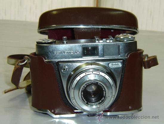 Camara fotografica antigua kodak retinette 1a c comprar - Camaras fotos antiguas ...