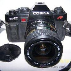 Cámara de fotos: COSINA GT 90 LENS 28-70 MM 1:3.5-4,8 MC MACRO 52. Lote 34860429