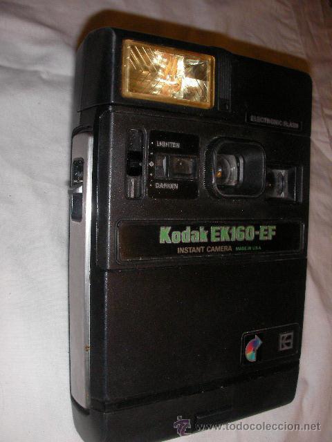 ANTIGUA CAMARA INSTANTANEA KODAK EK-160-EF (Cámaras Fotográficas - Clásicas (no réflex))