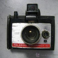 Cámara de fotos: ANTIGUA CAMARA POLAROID COLORPACK 80. MADEN IN NETHERLANS. Lote 36654059