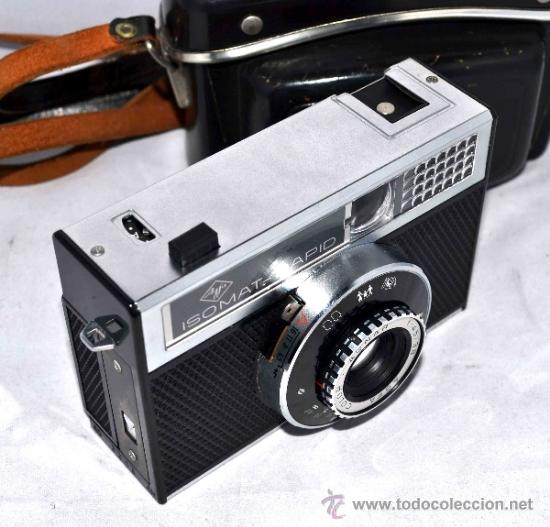 Cámara de fotos: EXCELENTE CAMARA ANTIGUA...AGFA ISOMAT RAPID + FUNDA...ALEMANIA 1965...,FUNCIONA - Foto 15 - 37221678