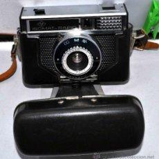 Cámara de fotos: EXCELENTE CAMARA ANTIGUA...AGFA ISOMAT RAPID + FUNDA...ALEMANIA 1965...,FUNCIONA. Lote 37221678