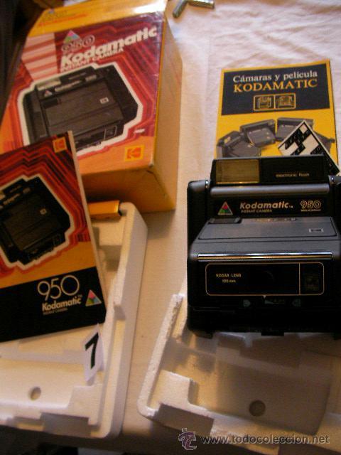 IMPRESIONANTE CAMARA KODAMATIC 950 NUEVA EN SU CAJA SIN USAR (Cámaras Fotográficas - Clásicas (no réflex))