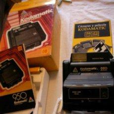 Cámara de fotos: IMPRESIONANTE CAMARA KODAMATIC 950 NUEVA EN SU CAJA SIN USAR . Lote 37808175