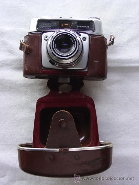 CAMARA DE FOTOS MONTANUS ROCCA. PRONTO LK. CON ESTUCHE ORIGINAL DE PIEL. AÑOS 50. GERMANY (Cámaras Fotográficas - Clásicas (no réflex))