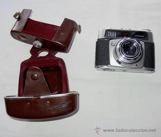 Cámara de fotos: CAMARA DE FOTOS MONTANUS ROCCA. PRONTO LK. CON ESTUCHE ORIGINAL DE PIEL. AÑOS 50. GERMANY - Foto 2 - 37988671