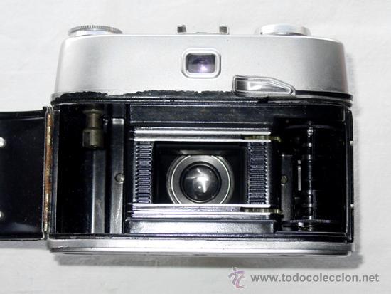 Cámara de fotos: CAMARA DE FOTOS MONTANUS ROCCA. PRONTO LK. CON ESTUCHE ORIGINAL DE PIEL. AÑOS 50. GERMANY - Foto 9 - 37988671