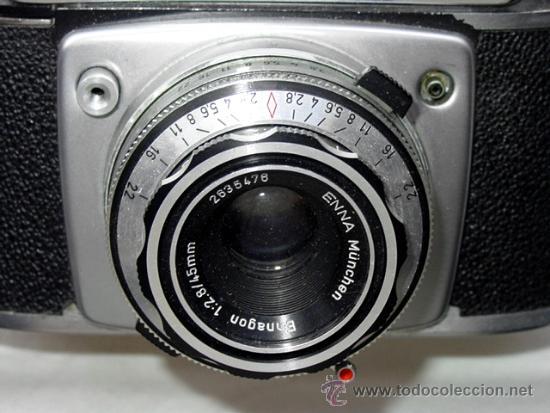Cámara de fotos: CAMARA DE FOTOS MONTANUS ROCCA. PRONTO LK. CON ESTUCHE ORIGINAL DE PIEL. AÑOS 50. GERMANY - Foto 10 - 37988671