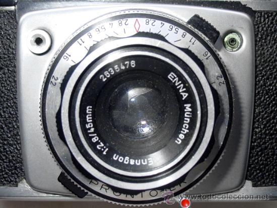 Cámara de fotos: CAMARA DE FOTOS MONTANUS ROCCA. PRONTO LK. CON ESTUCHE ORIGINAL DE PIEL. AÑOS 50. GERMANY - Foto 11 - 37988671