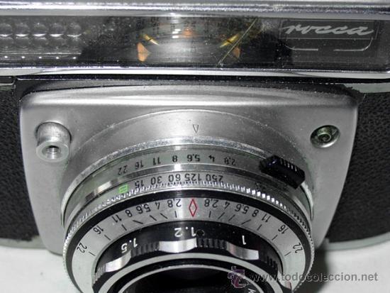 Cámara de fotos: CAMARA DE FOTOS MONTANUS ROCCA. PRONTO LK. CON ESTUCHE ORIGINAL DE PIEL. AÑOS 50. GERMANY - Foto 12 - 37988671