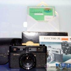 Cámara de fotos: YASHICA, ELECTRO 35 GTN. Lote 38710511