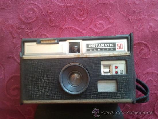 KODAK MADE IN ENGLAND ISTAMATIC 50 (Cámaras Fotográficas - Clásicas (no réflex))