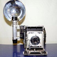 Cámara de fotos: GRAFLEX CROW GRAPHIC 4X5, OPTAR 135MM F/ 4,7. Lote 39093493