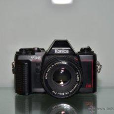 Cámara de fotos: KONICA TC-X+HEXANON AR 50MM 1,8. Lote 39539456