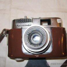 Cámara de fotos: CÁMARA FOTOGRÁFICA VOIGTLANDER VITO BL CON SU FUNDA.. Lote 40057654