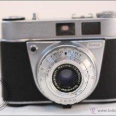Cámara de fotos: CAMARA KODAK RETINETTE IA - OBJETIVO VERO - PRIMERA SERIE AÑO 1959 - SE INCLUYE FUNDA. Lote 40086648